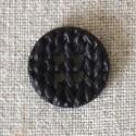 Bouton tricot noir
