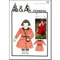 Kit couture manteau enfant 5 à 7 ans