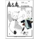 Patron de pyjama, combinaison pour bébé P603