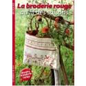 Livre La broderie rouge au fil des saisons