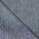 Tissu lin et coton crepon rayures marine