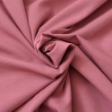 Jersey coton Bio rose foncé