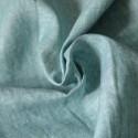 Tissu lin naturel vert