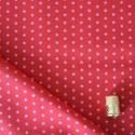 Tissu imprimé à étoiles rose