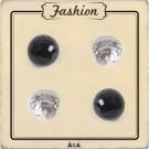 Bouton boule perle à facette 8 mm