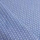 Tissu chambray imprimé géométrique