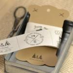Etiquettes à coudre handmade, couture maison, cousu main