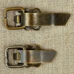 Fermoir à clip métal