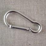 Mousqueton métal 52 mm