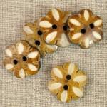 Bouton coco petite fleur