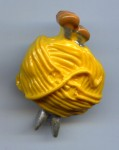Pelote de laine (charm)