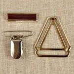 Accessoires haut de gamme pour bretelles 36 mm