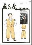 Pantalon et gilet P103