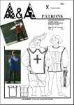 Costume de mousquetaire, de troubadour P302