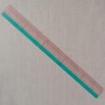 Règle japonaise 50 cm Clover pour la couture
