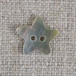 Bouton étoile nacre
