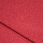 Laine bouillie de luxe rouge foncée