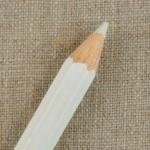 Crayon à tissu craie blanc