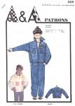 Patron de couture blouson jean enfant 8, 9 et 10 ans