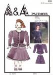 Patron de jupe et veste enfant P013