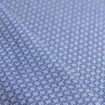Joli tissu chambray jean imprimé