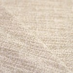 Tissu lainage jacquard beige écru