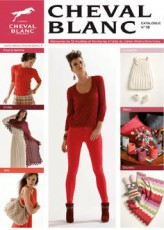 Magazine de modèles à tricoter en laine Cheval Blanc n°18