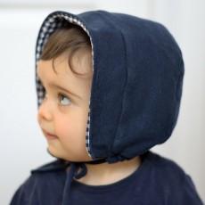 patron couture béguin bébé gratuit Nylia