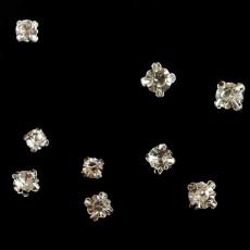 Strass style diamant de 6 à 8 mm