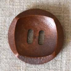 Bouton bois carré