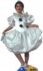 Patron couture déguisement enfant colombine princesse