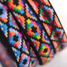 Elastique à motifs ethniques à coudre pour jupe