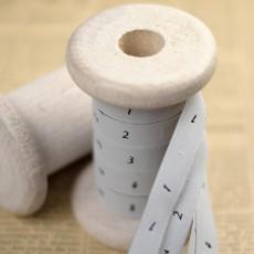 Etiquette de taille numérotées à coudre vêtement