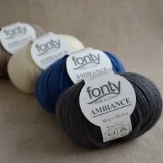 Laine mérinos Ambiance de Fonty à tricoter
