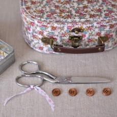 Kit couture petite valise fleurie