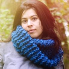Modèle à tricoter du Snood Sorlin