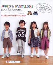 Livre de patrons japonais : jupes et pantalons pour les enfants