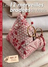 Livre Les 12 merveilles brodées de Marie