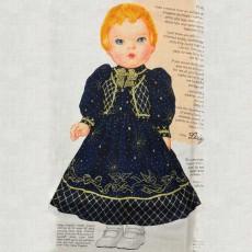 """Robe et veste de poupée """"Daisy doll"""""""