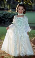 Patron à coudre déguisement robe de marquise enfant