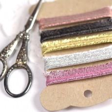 Passepoil lurex glitter