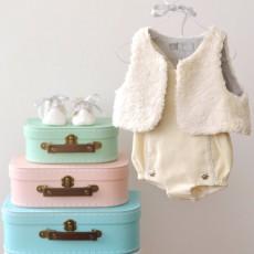 Kit couture gilet bébé et enfant Colin