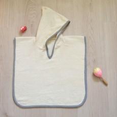 Patron de couture du poncho peignoir de bain pour bébé Marouette