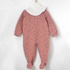 patron couture pyjama bébé volant jersey bio