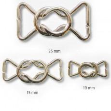 Fermoir maillot de bain métal aux formes arrondies