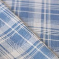 Tissu à carreaux flanelle jean écossais