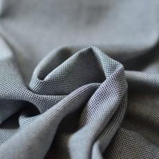 Tissu style lainage oxford piqué coton Bio bleu marine