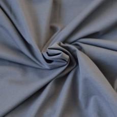 Tissu jersey gris souris coton Bio au mètre