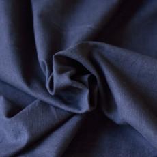 Tissu lin bleu marine au mètre