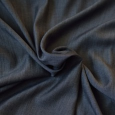 Tissu lyocell jean noir au mètre